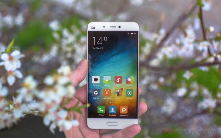 Đánh giá chi tiết Xiao Mi 5 – GSMArena