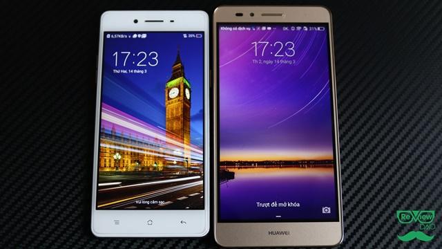 So sánh chi tiết OPPO F1 vs Huawei GR5: đâu là ông vua trong phân khúc tầm trung!?!?
