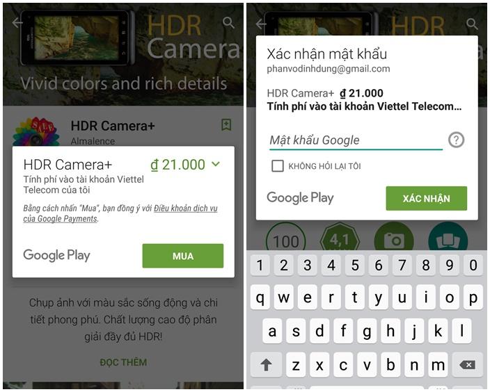 Đã có thể mua hoặc thanh toán game ứng dụng qua tài khoản Viettel Telecom