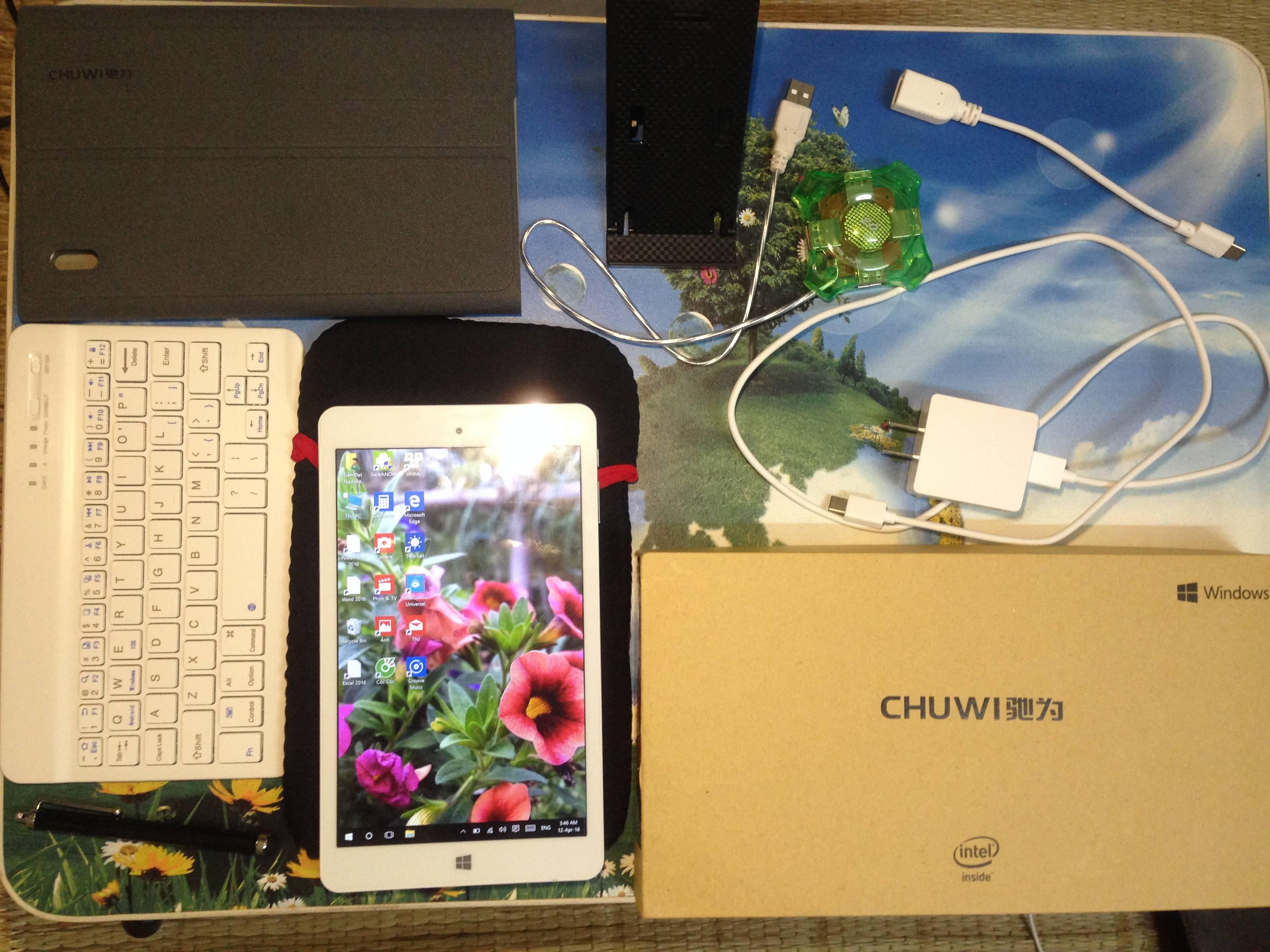 Đánh giá chi tiết Chuwi Hi8 pro: chiếc máy lai thực thụ dành cho sinh viên.