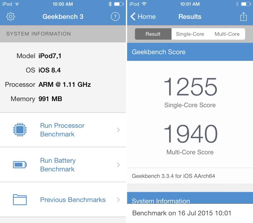 Đánh giá chi tiết iPod Touch 2015(Gen 6) : Liệu có thể hồi sinh 1 thương hiệu???