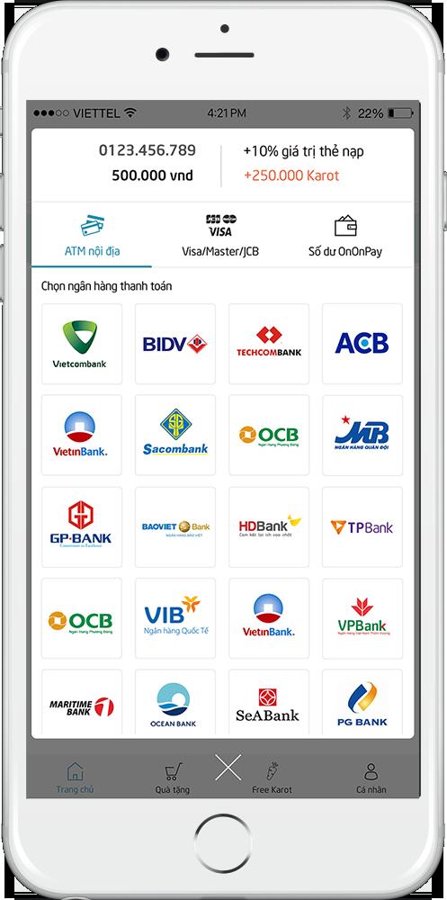 Đánh giá chi tiết ứng dụng nạp tiền điện thoại trực tuyến OnOnPay – làn sóng mới của người dùng Việt