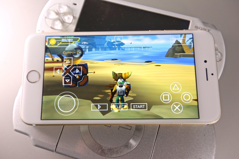 Hướng dẫn cài đặt giả lập PSP cho các thiết bị iOS không cần Jailbreak