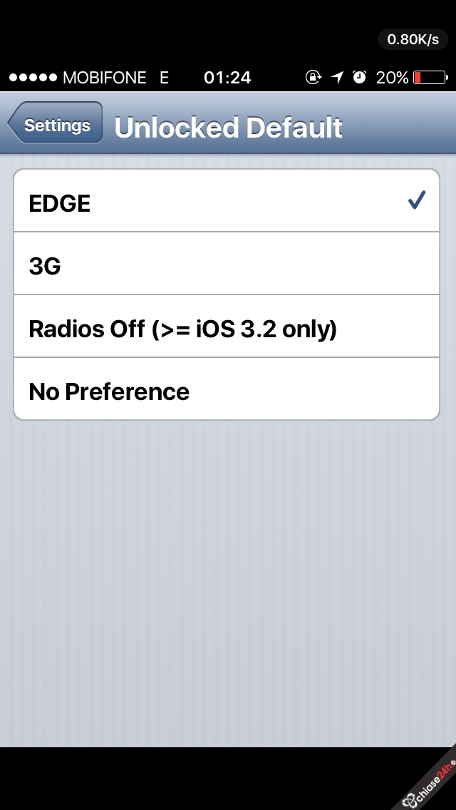 Hướng dẫn fix full iPhone lock nhật iOS 8.x (updated to 8.4)