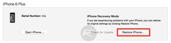 Hướng dẫn gỡ bỏ hoàn toàn Jailbreak iOS 9.3.3