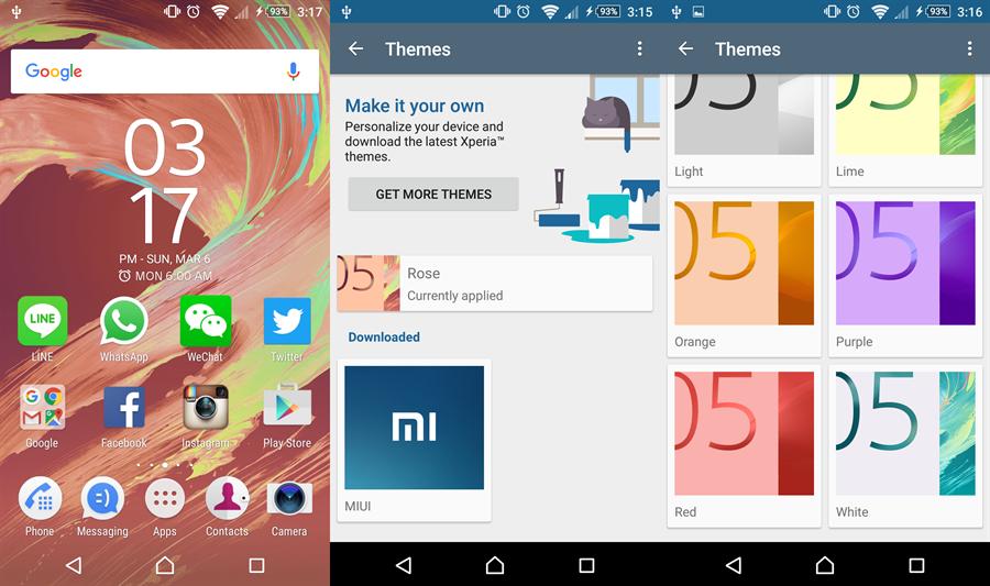 Mang giao diện và icon của Sony Xperia X lên các thiết bị chạy Android