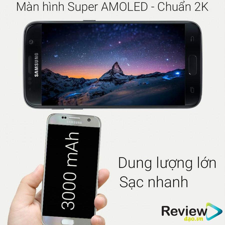 Tổng quan về Samsung Galaxy s7