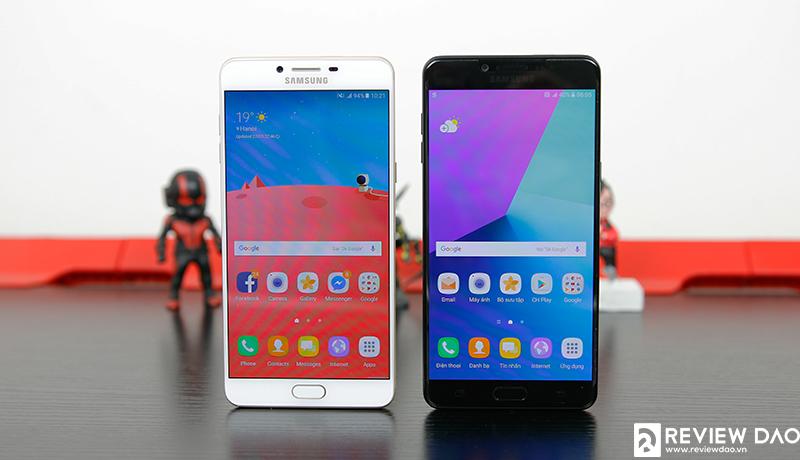 Trên tay Galaxy C9 Pro chính hãng Việt Nam: thiết kế đẹp, không bị rút gọn cấu hình