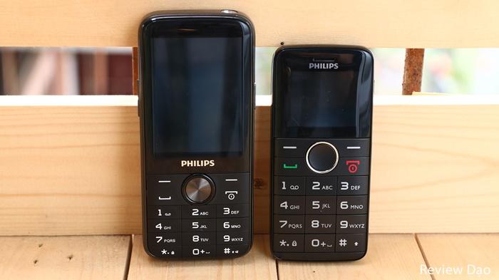 [Trên tay] Philips E330: feature phone pin 4050mAh; Philips E220: điện thoại dành cho người cao tuổi