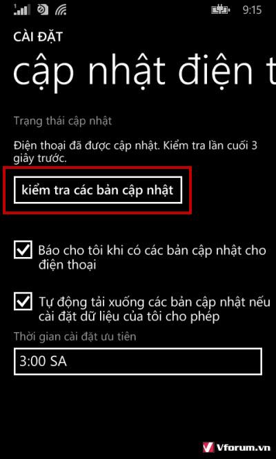 Hướng dẫn nâng cấp Windows Phone 10 cho điện thoại Lumia
