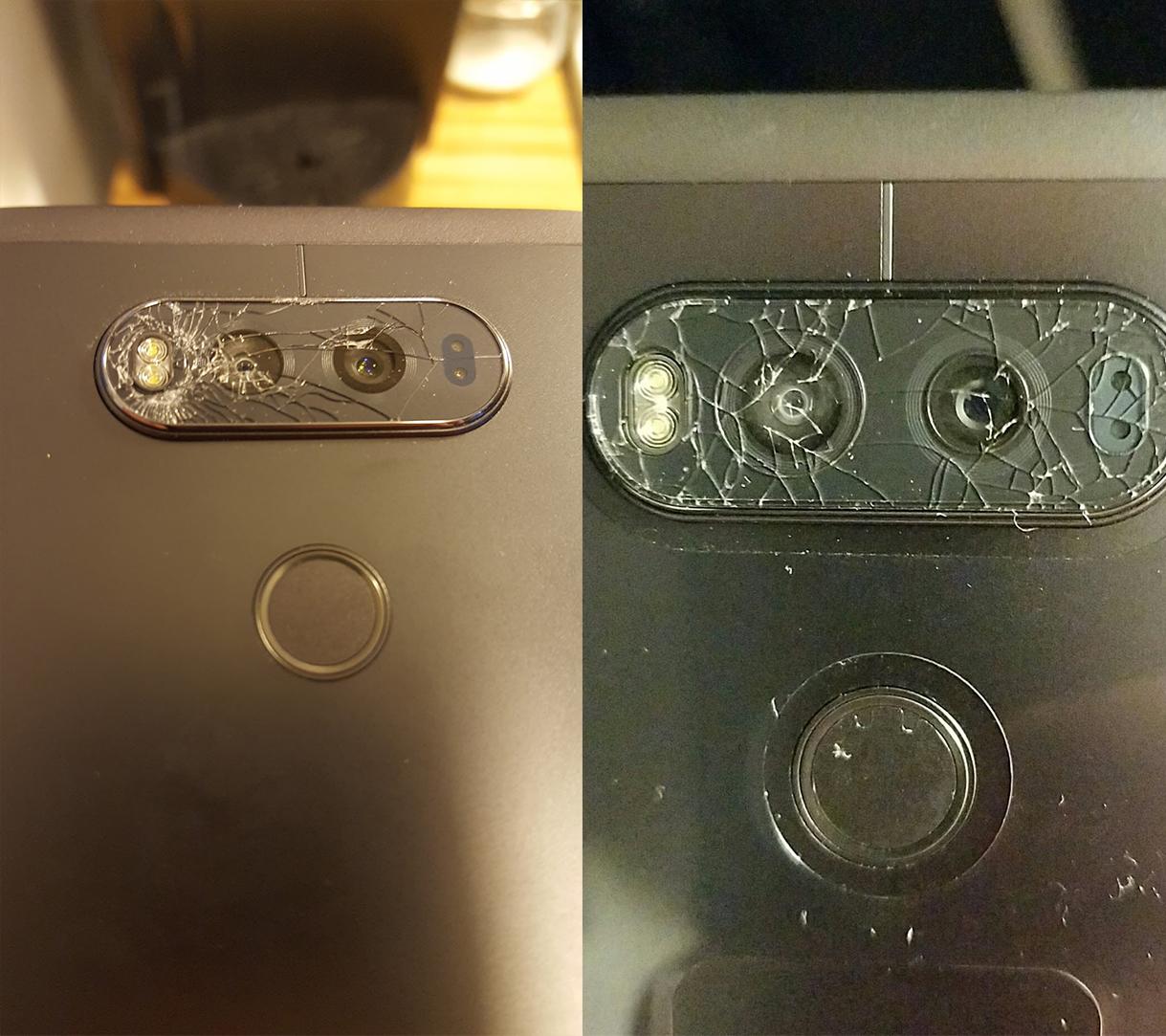 Vẫn chưa tìm thấy flagship hoàn hảo của LG!? Khi mà LG V20 lại bị lỗi nứt kính camera