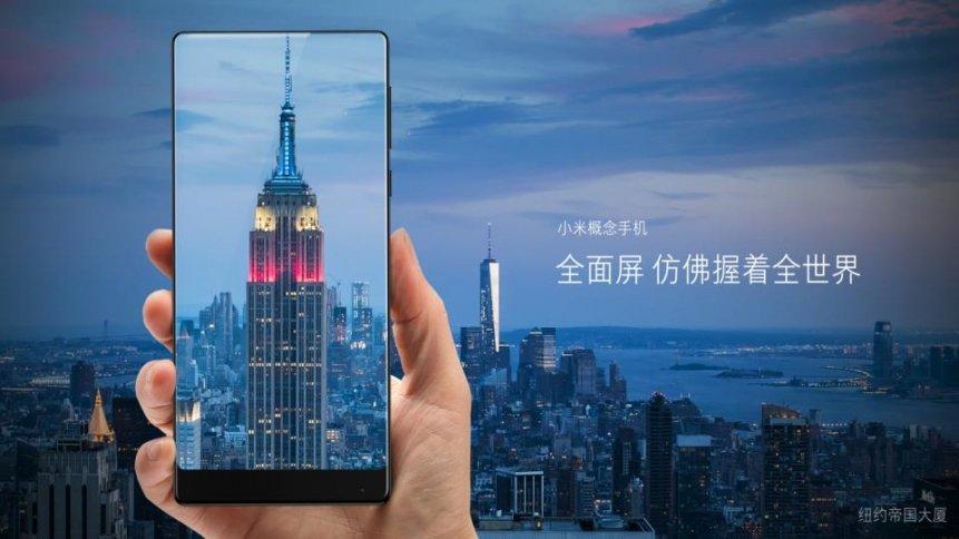 Xiaomi Mi Mix smartphone không viền màn hình chính thức ra mắt