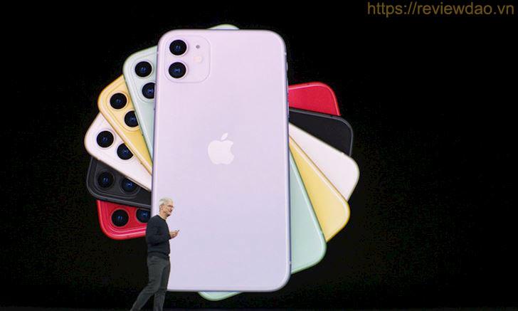 màn hình IPS LCD của iPhone 11 không thực sự sinh động bằng OLED