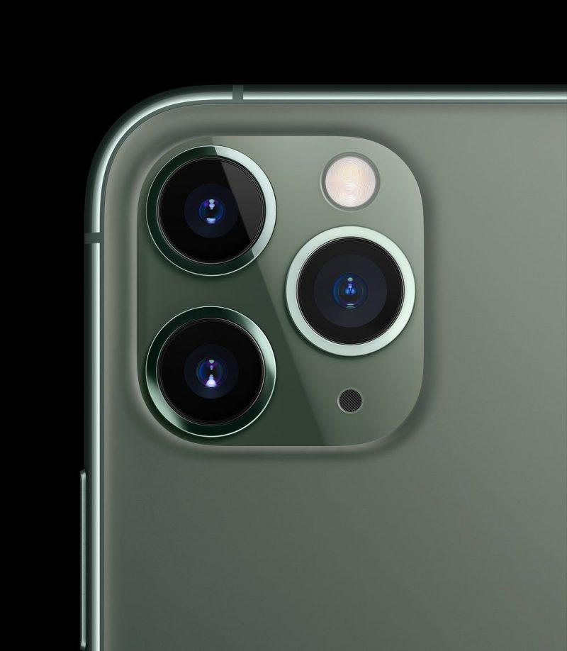 cụm camera trên hai phiên bản 11 Pro và 11 Pro Max, khi chúng sở hữu đến 3 chiếc camera