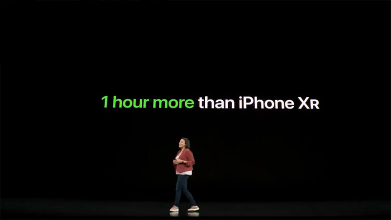 Apple vẫn chưa công bố dung lượng chính xác của viên pin được trang bị cho iPhone 11