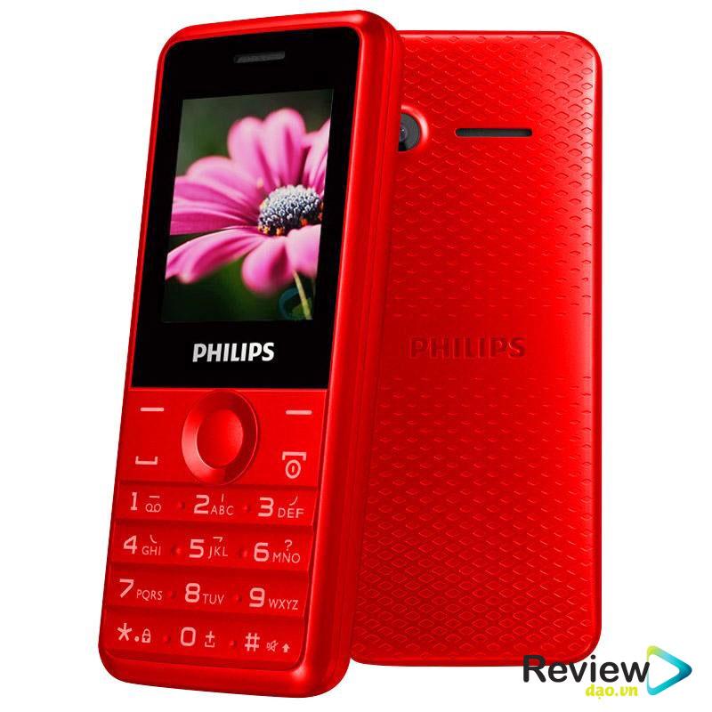 Điện thoại Philips E103 Philips E103 cũng là một trong những dòng điện thoại dành riêng cho người già thuộc phân khúc chất lượng và tốt nhất.