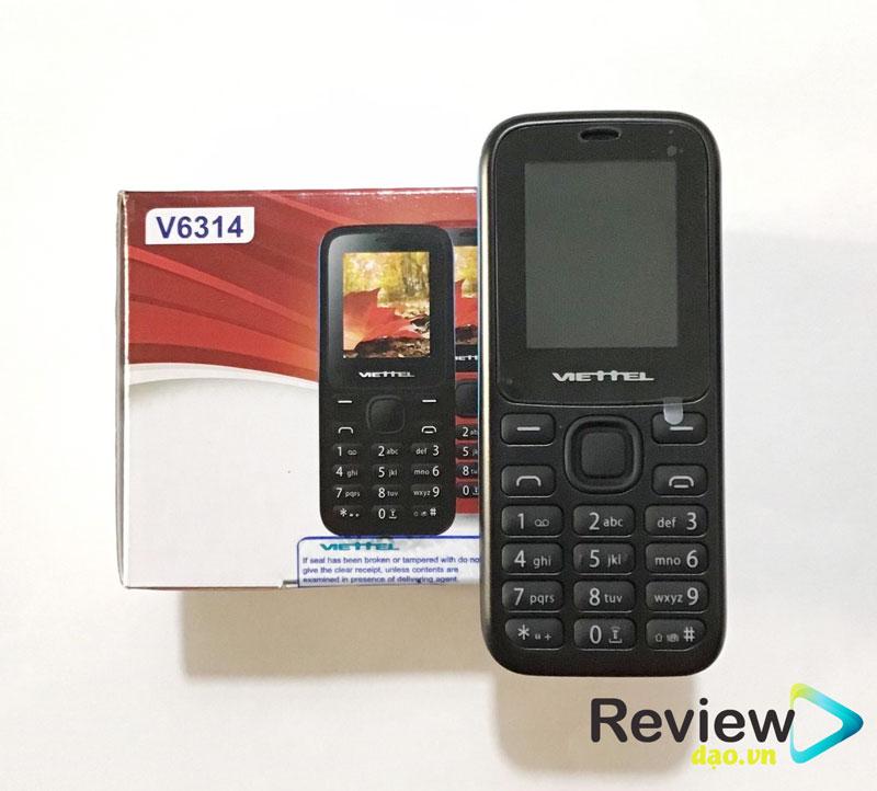 Điện thoại Viettel V6314 Viettel V6314 đến từ mạng viễn thông quân đội Việt Nam, nó được ra đời nhằm mục đích phục vụ cho người lớn tuổi, được đánh giá là loại tốt nhất hiện nay.