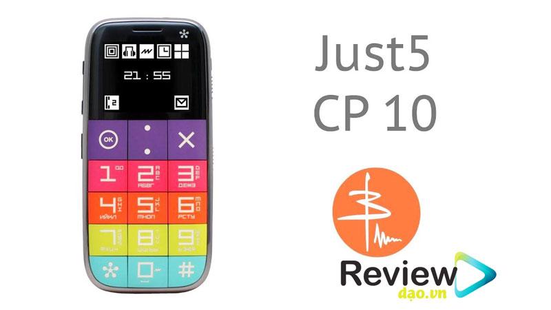 """Just 5 từ lâu đã được biết đến là chiếc điện thoại dễ sử dụng. Bàn phím lớn, màn hình hiển thị đơn sắc tươi sáng. Bên cạnh đó, Just 5 còn sở hữu chương trình thiết lập các số gọi khẩn cấp bằng 1 phím """"SOS"""" riêng biệt, phím """"SuperButton"""""""