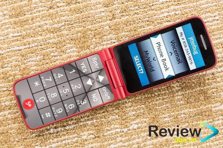Điện thoại di động Jitterbug Flip Jitterbug Flip là dòng điện thoại gập cơ bản hội tụ nhiều công dụng khác nhau. Nó không có các tính năng như chiếc điện thoại thông minh