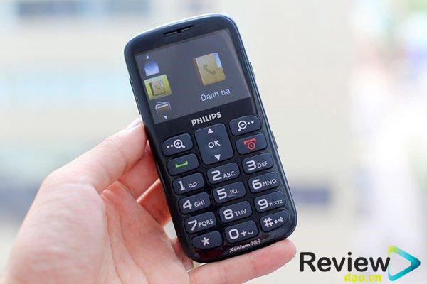 Bàn phím: Điểm cộng của chiếc điện thoại này là bàn phím lớn, nhìn khá rõ ràng. Bàn phím hiển thị to gấp 2 đến 3 lần so với những sản phẩm điện thoại thường.
