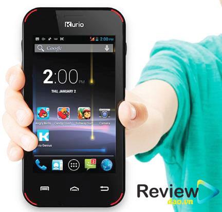 Kurio được biết đến là dòng điện thoại thông minh dành cho trẻ em với giá cả khá đắt đỏ nhưng các tính năng không thực sự mạnh mẽ.