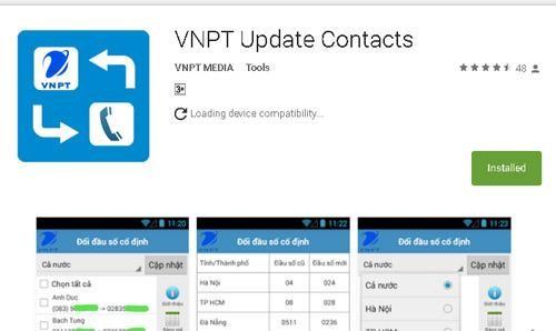 Ưu điểm của VNPT Update Contact là cập nhật danh bạ khác chính xác theo từng giai đoạn, bao gồm cả số điện thoại cố định của các nhà mạng khác.