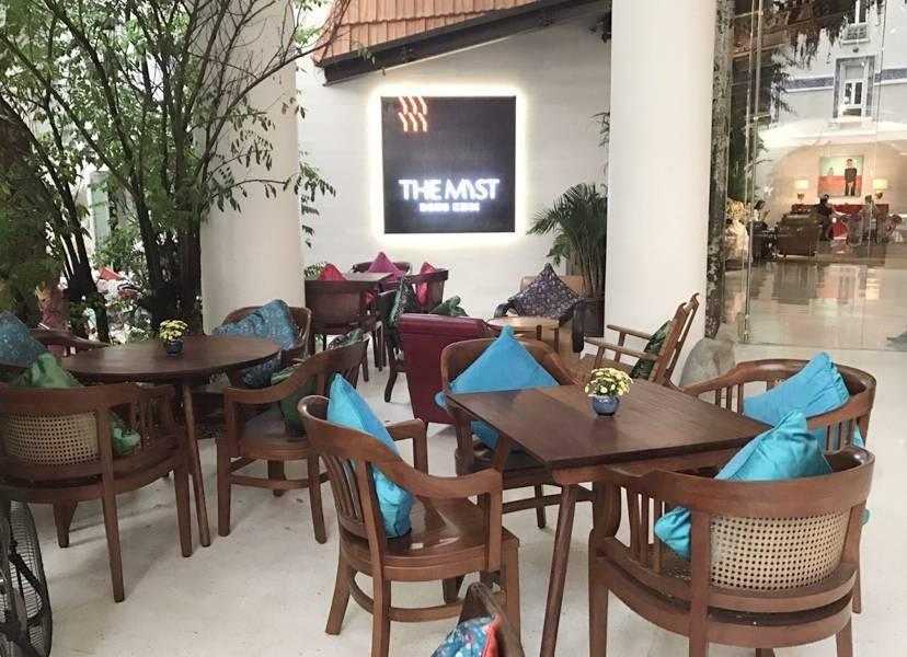 Quán Bason Café tại quận 1 Quán được thiết kế với lối kiến trúc độc đáo