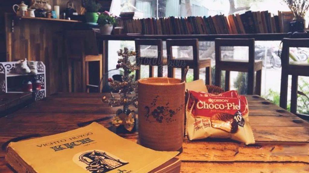 Book Coffee Shop với không gian nhỏ nhắn, xinh xắn, mang lại cảm giác riêng tư