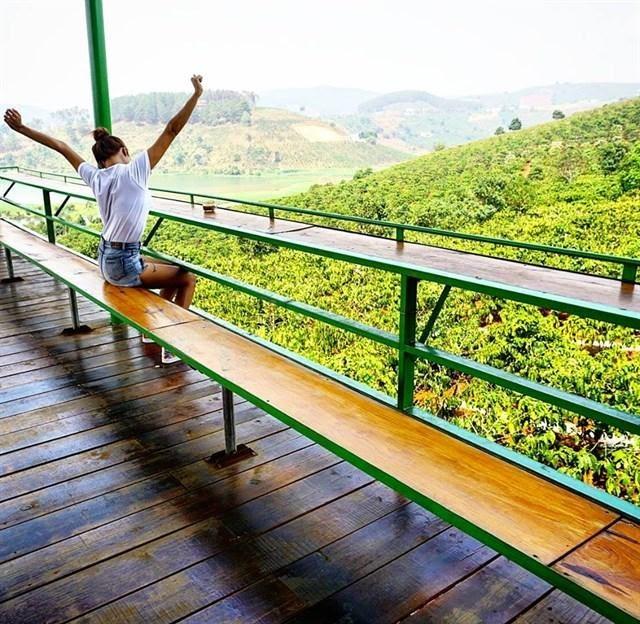 Không ngoa khi nói Me Linh garden coffee là quán cà phê có view đồi đẹp nhất ở Đà Lạt