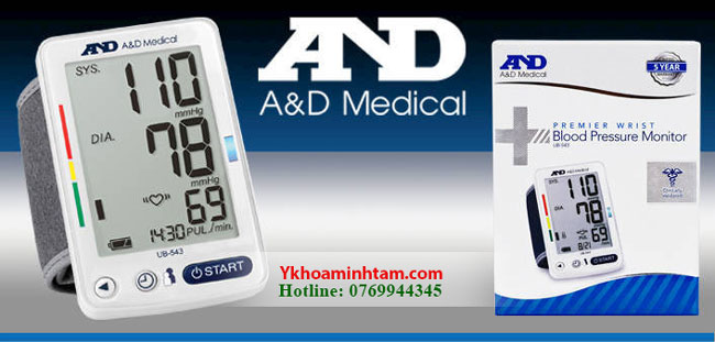 Máy đo huyết áp AND Nhật Bản chất lượng và đáng mua nhất hiện nay