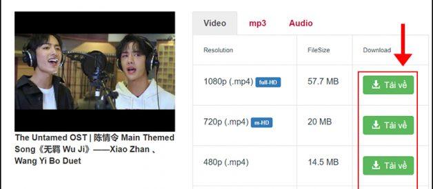 Cách tải video và nhạc mp3 trên youtube nhanh nhất 2021